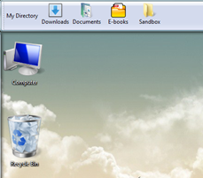 Docking taskbar toolbar in Windows Vista